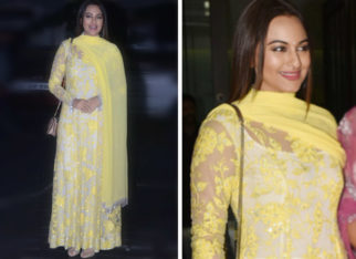 Sonakshi Sinha in Manish Malhotra at Aayush Sharma-Arpita Khan EID Bash (1)