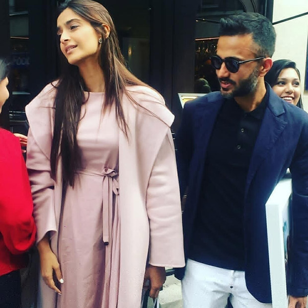 Sonam Kapoor Ahuja's CANDID click with Anand Ahuja proves she has an awesome birthday!