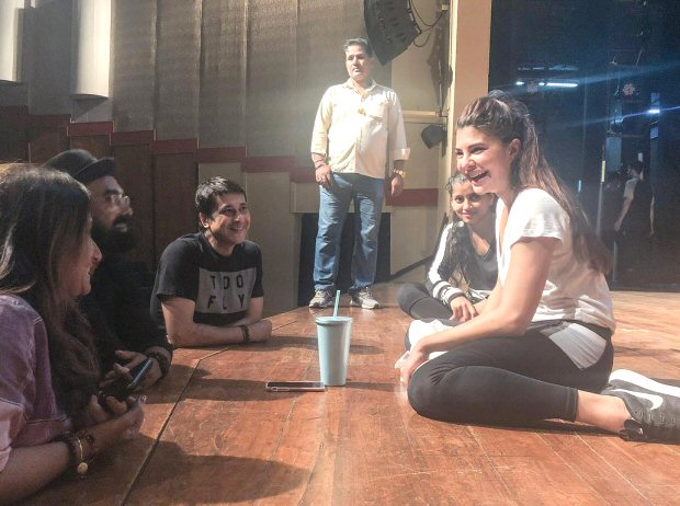 WATCH Jacqueline Fernandez shares a sneak peek from Dabangg Tour rehearsals