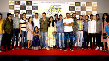 Akshay Kumar attends the trailer launch of the Marathi film Chumbak at PVR Juhu