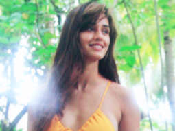 Disha Patani raises the temperature in this sensuous yellow monokini