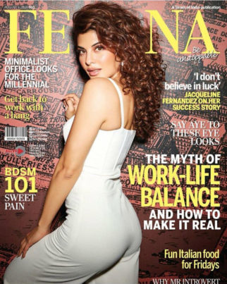 Jacqueline Fernandez On The Cover Of Femina, Aug 2018
