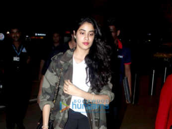 Janhvi Kapoor, Priyanka Chopra and others snapped at the airport