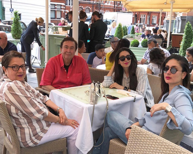 Karisma and Kareena Kapoor Khan enjoys a quaint meal with parents in the Queens city