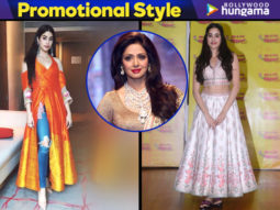 Janhvi Kapoor promotional style for Dhadak
