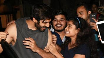 SPOTTED Varun Dhawan, Kartik Aaryan & Aayush Sharma @Gym in Mumbai