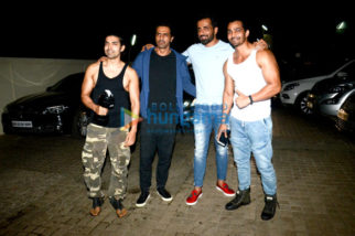 Star cast of 'Paltan' spotted at PVR, Juhu