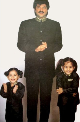 THROWBACK THURSDAY This old photo of Anil Kapoor with young Sonam Kapoor and Rhea Kapoor is absolutely adorable