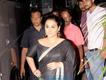 Vidya Balan snapped after a shoot in Bandra
