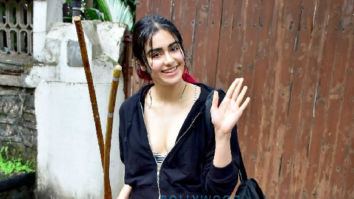 Adah Sharma spotted after rehearsals