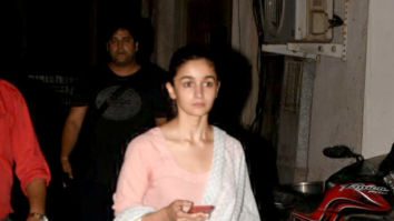 Alia Bhatt snapped after dance rehearsals in Juhu