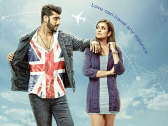 Arjun Kapoor – Parineeti Chopra's Namaste England poster cuts out a portion of India from map