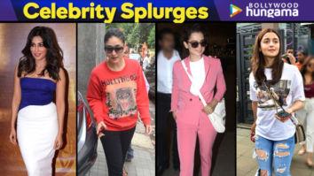 Celebrity Splurges