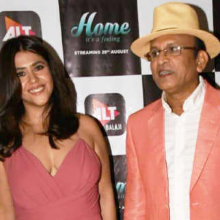 Ekta Kapoor and Annu Kapoor @The trailer launch of 'Home it's a feeling' Part 1