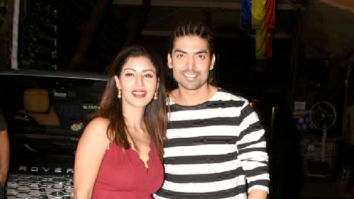 Gurmeet Choudhary and Debina Bonnerjee snapped in Juhu