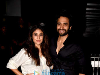 Jackky Bhagnani and Kritika Kamra promote their film 'Mitron' at Barrel and Company