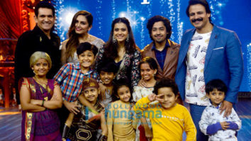 Kajol promotes 'Helicopter Eela' on the show India's Best Dramebaaz