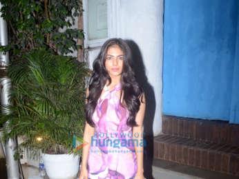 Malavika Mohanan snapped in Bandra