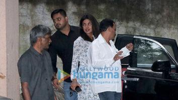 Priyanka Chopra spotted at Sanjay Leela Bhansali's office in Juhu