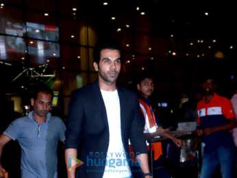 Rajkummar Rao, Harshvardhan Rane and others snapped at the airport last night