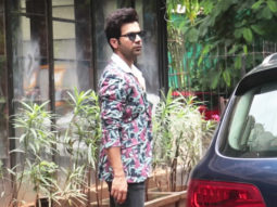 Rajkummar Rao spotted at Indigo in Lokhandwala