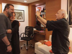 SADAK 2 Sanjay Dutt and Pooja Bhatt hug it out before kicking off the first schedule of the sequel