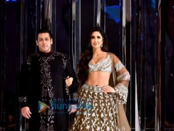 Salman Khan and Katrina Kaif walk the ramp for Manish Malhotra's fashion show