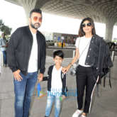 Shilpa Shetty, Raj Kundra, Tripti Dimri & Avinash Tiwari snapped at the airport