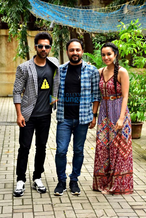 Shraddha Kapoor and Rajkummar Rao spotted at Maddock Films office