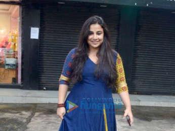 Vidya Balan spotted at after shopping in Bandra