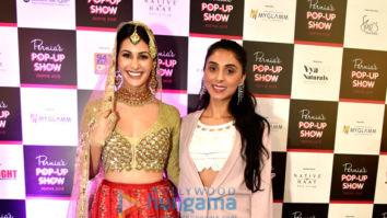 Amyra Dastur walks the ramp for Pernia's Pop-Up Show