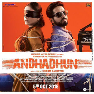 First Look Of Andhadhun