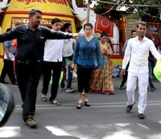 Ekta Kapoor snapped at Shani Temple in Juhu
