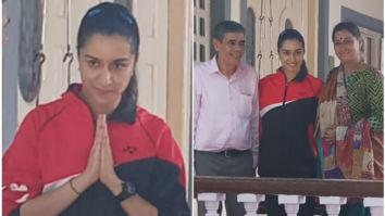 Shraddha Kapoor kick starts Amol Gupte's Saina Nehwal biopic with Bhushan Kumar as producer