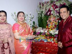 Govinda & Family Ganpati Celebration at Home