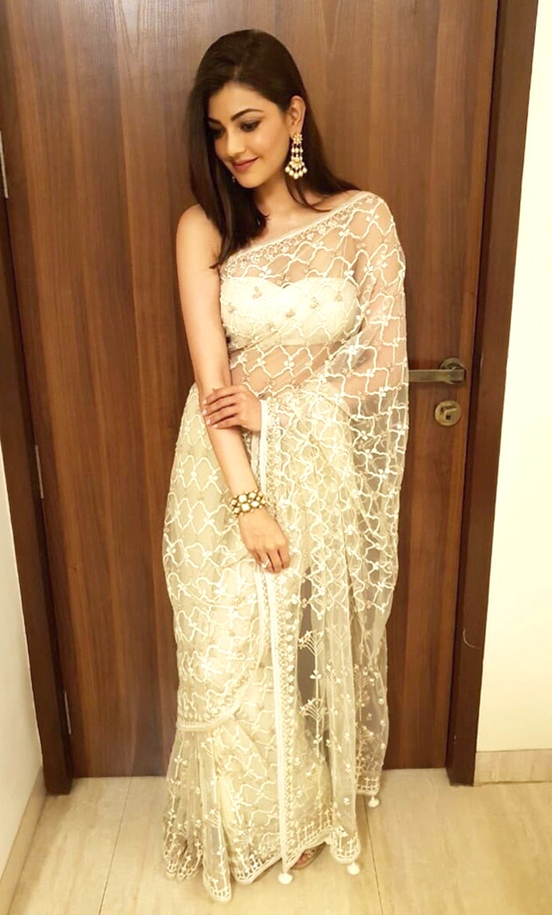 Kajal Aggarwal in Anita Dongre for an event (3)
