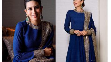 Karisma Kapoor in Sabyasachi Couture