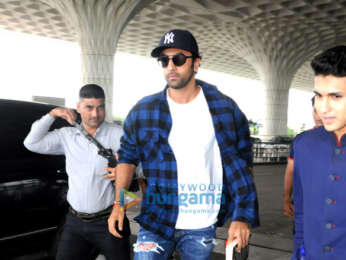 Ranbir Kapoor, Sonal Chauhan and others snapped at the airport