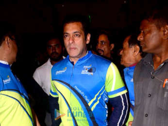 Salman Khan snapped at the event of MTB Arunachal