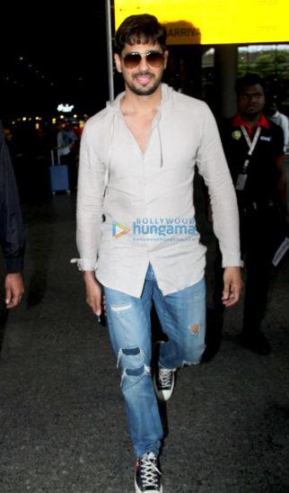 Sidharth Malhotra, Shraddha Kapoor and Gauahar khan snapped at the airport