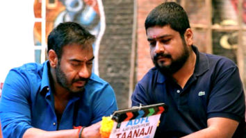 On The Sets Of The Movie Taanaji - The Unsung Warrior