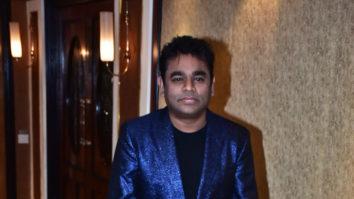 A.R. Rahman at the GRAND music launch of movie Maaza Agadbam