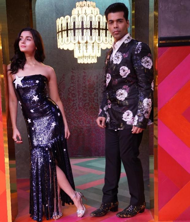 Alia Bhatt in Monse Maison for KWK 6 (2)