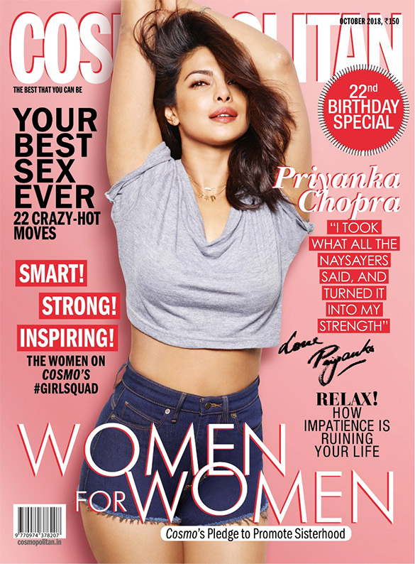 Priyanka Chopra On The Cover Of Cosmopolitan