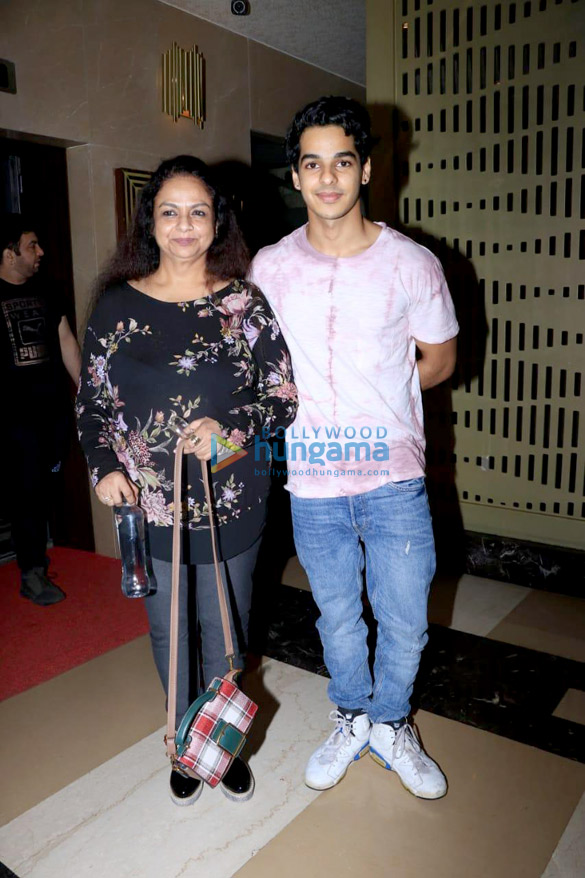 Ishaan Khatter snapped Neelima Azim at PVR Icon in Andheri (2)