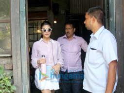 Jacqueline Fernandez spotted at Pali Village Cafe