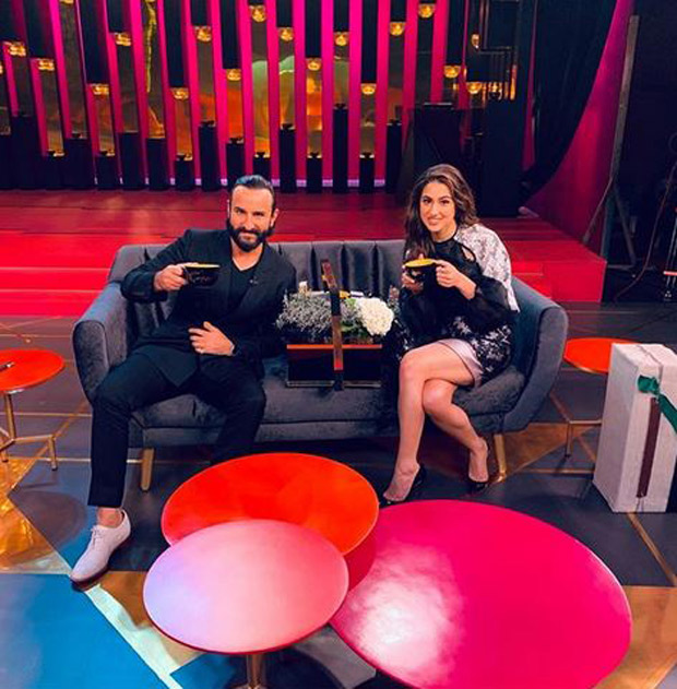 Koffee With Karan 6 FIRST look out: Saif Ali Khan & Sara Ali Khan set the couch on fire; Deepika Padukone and Alia Bhatt are next