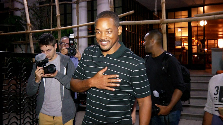 Must Watch:Hollywood legend Will Smith in Mumbai