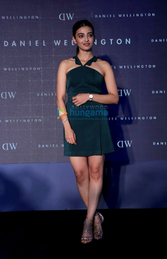 Radhika Apte in Lola by Suman for Daniel Wellington event (2)