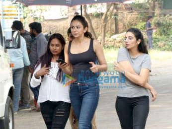 Rakul Preet Singh spotted at Filmcity in Goregaon